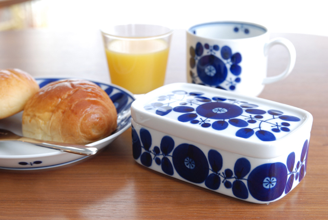 白山陶器 BLOOM(ブルーム) バターケース