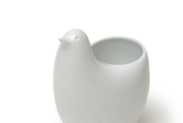白山陶器 ポッポ とり型フリースタンド
