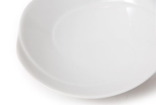白山陶器 ともえ 手塩浅鉢 白磁
