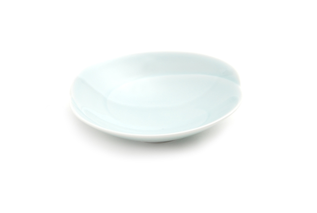 白山陶器 ともえ 浅鉢(小)青白釉