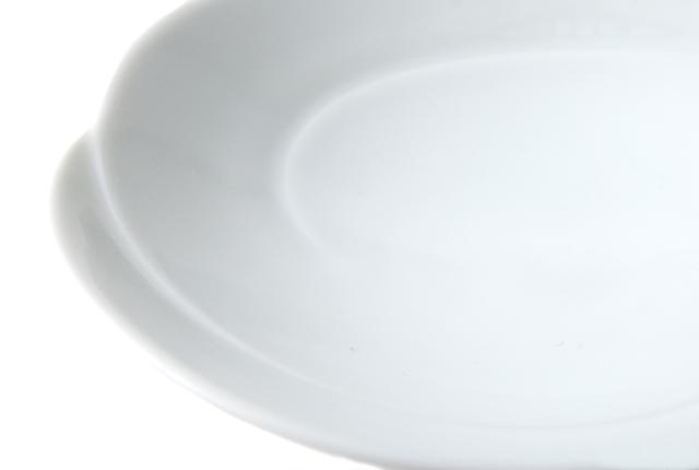 白山陶器 ともえ 多用浅鉢 白磁