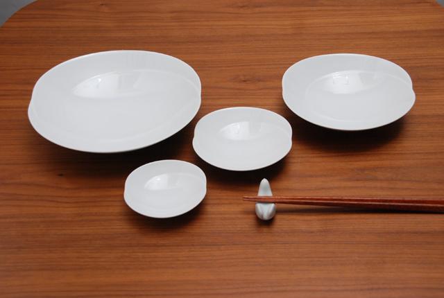 白山陶器 ともえ サイズ比較4種