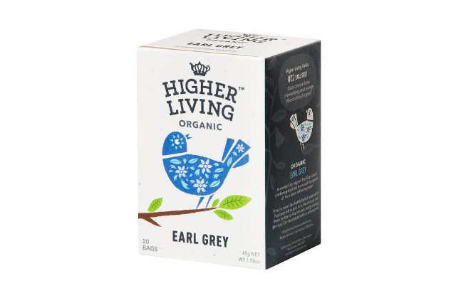 HIGHER LIVING ORGANIC TEA 有機アールグレイ