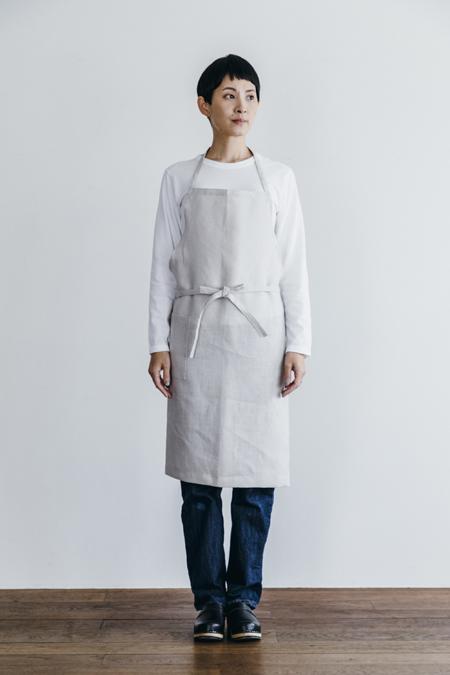 fog linen work(フォグリネンワーク) リネンデイリーエプロン