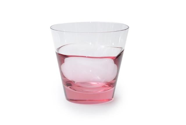 Sugahara Glass(スガハラガラス) 「duo・デュオ」 オールド バイオレット