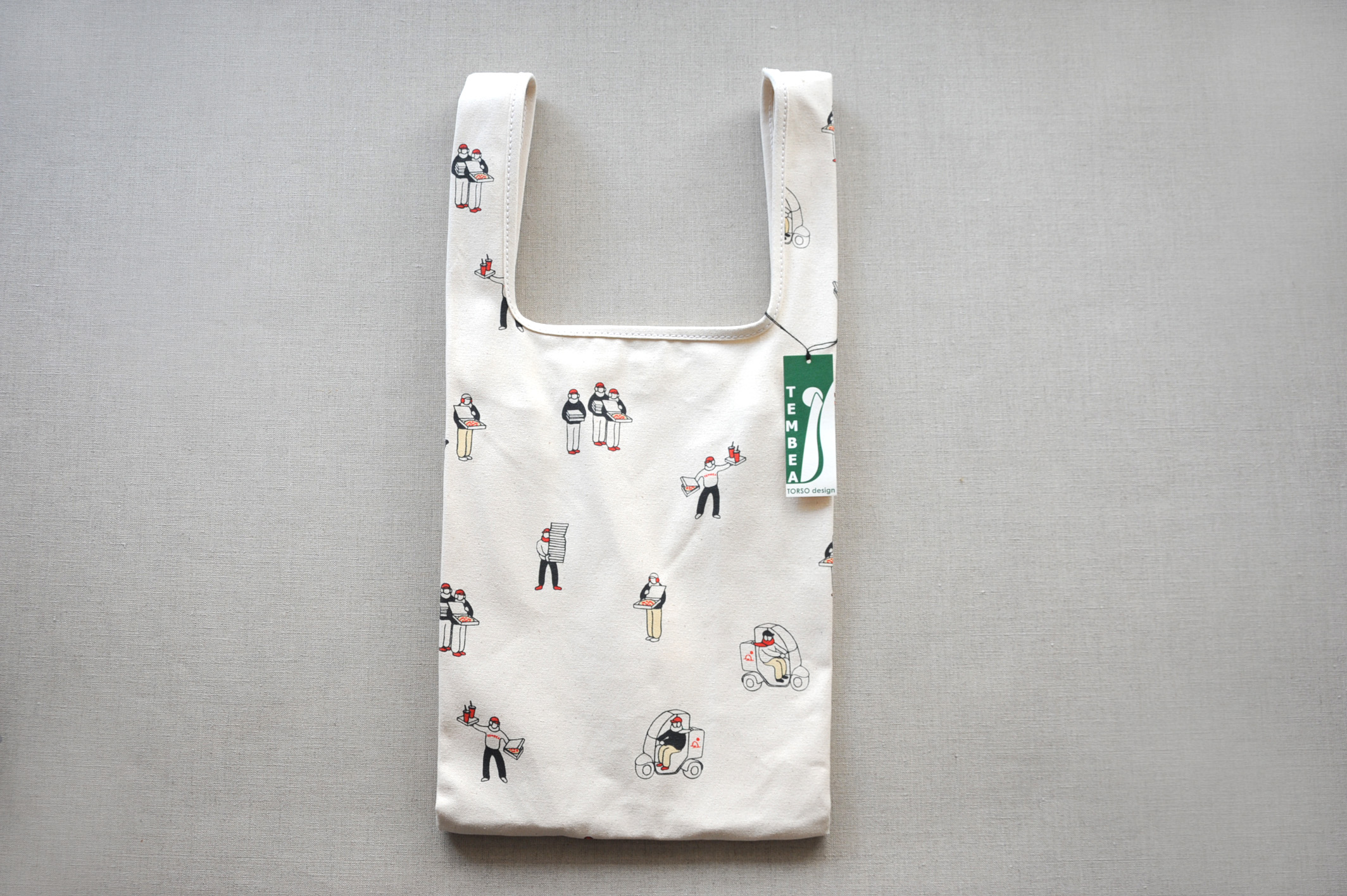 TEMBEA(テンベア) MARCHE BAG(マルシェバッグ) プリント