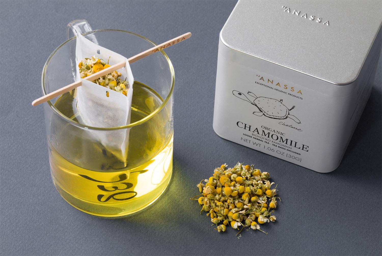 ANASSA ハーブティー カモミール(缶)