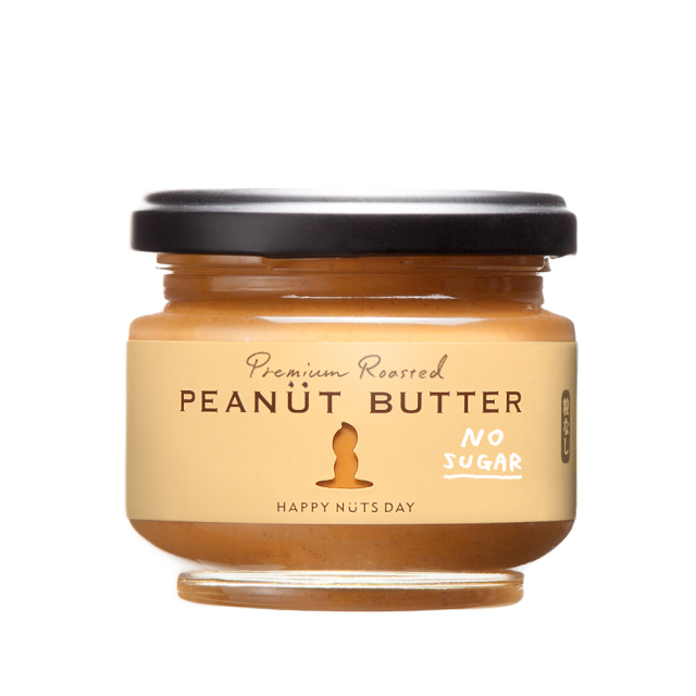 HAPPY NUTS DAY ピーナッツバター 無糖 粒あり・粒なし