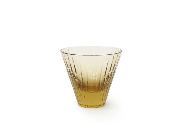 Sugahara Glass(スガハラガラス)「kiira」 キーラ  TAN